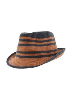 Шляпа R.Mountain. Цвет: коричневый, синий