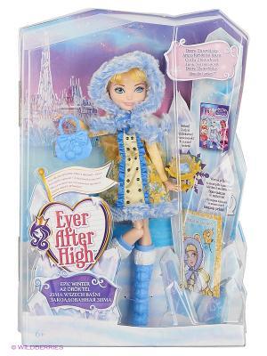 Кукла Заколдованная зима. Блонди Локс Ever after High. Цвет: синий, желтый