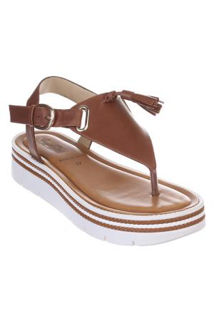 Sandals FASCINO DONNA. Цвет: brown