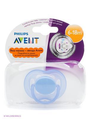 Пустышка Philips Avent серия Freeflow SCF178/14 1 шт. 6-18 мес.. Цвет: голубой