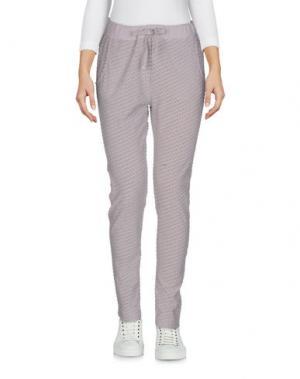 Повседневные брюки CROSSLEY. Цвет: голубиный серый