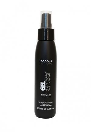 Гель для укладки Kapous. Цвет: черный