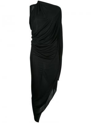 Платье Origami Bianca Spender. Цвет: чёрный