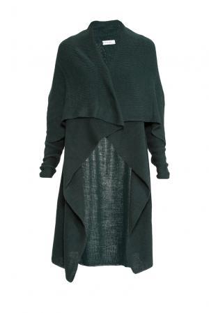 Кардиган из шерсти 153303 Norsoyan. Цвет: зеленый