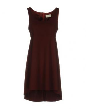 Короткое платье VICOLO. Цвет: какао