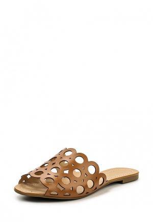 Шлепанцы Cecconello. Цвет: коричневый