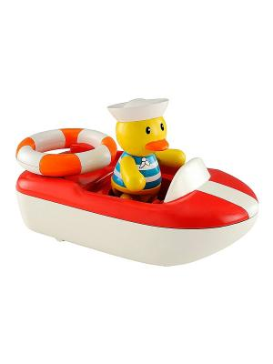 Лодка ELC. Цвет: красный, желтый, белый