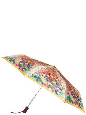 Зонт Eleganzza. Цвет: оранжевый, зеленый, лазурный