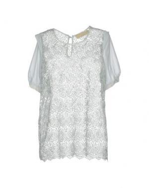 Блузка MINA. Цвет: светло-зеленый
