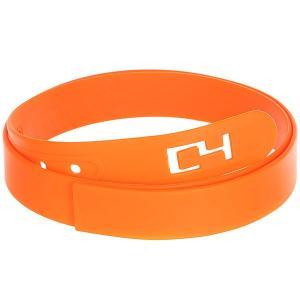 Ремень  Classic Belt Orange C4. Цвет: оранжевый