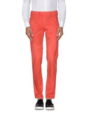 Повседневные брюки JECKERSON. Цвет: коралловый