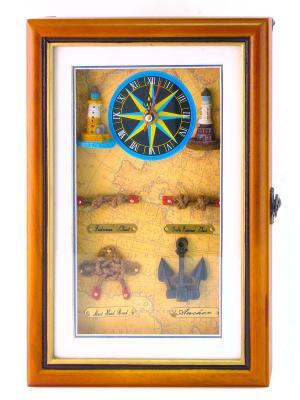 Ключница Маяк Aztek. Цвет: светло-коричневый