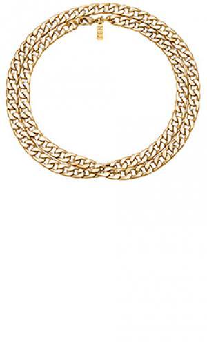 Ожерелье erbe Natalie B Jewelry. Цвет: металлический золотой
