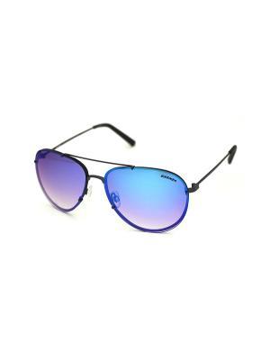 Cолнцезащитные очки Exenza. Цвет: голубой, коричневый