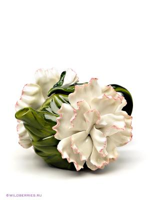 Заварочный чайник Pavone. Цвет: зеленый, белый