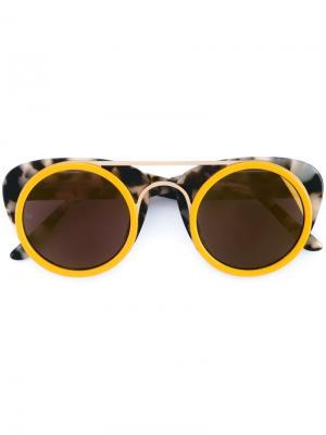 Солнцезащитные очки Sodapop III Smoke X Mirrors. Цвет: коричневый