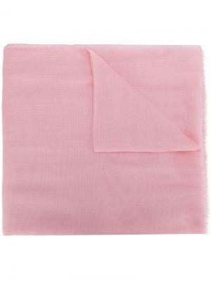 Шарф с бахромой M Missoni. Цвет: розовый и фиолетовый