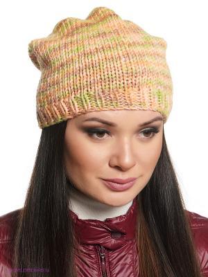 Шапка Ваша Шляпка. Цвет: персиковый, коричневый, оливковый