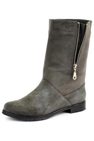 Ботинки Riccorona. Цвет: серый