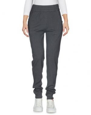 Повседневные брюки WETPAINT. Цвет: свинцово-серый