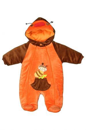 Комбинезон Kidly. Цвет: оранжевый