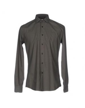 Pубашка FABIO MODIGLIANI. Цвет: темно-зеленый