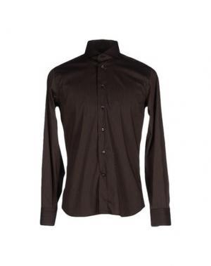 Pубашка NO BRAND. Цвет: черный