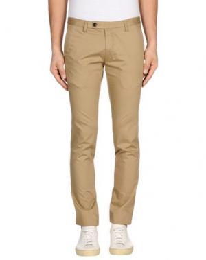 Повседневные брюки FUTURO. Цвет: верблюжий