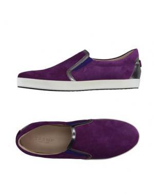 Низкие кеды и кроссовки TREMP. Цвет: фиолетовый