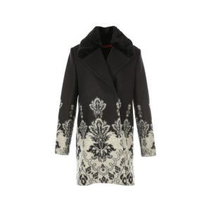 Пальто RENE DERHY. Цвет: черный/ белый