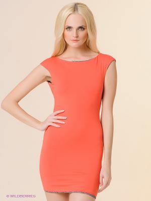 Платье BSB. Цвет: красный
