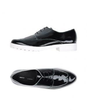 Обувь на шнурках MIISTA. Цвет: темно-зеленый