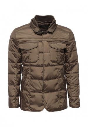 Куртка утепленная Deblasio. Цвет: хаки