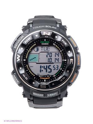 Часы PRO TREK PRW-2500-1E CASIO. Цвет: черный