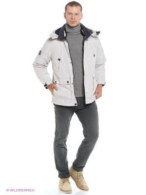Куртка EVOLUTION. Цвет: светло-серый