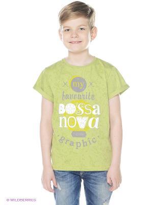 Футболка Bossa Nova. Цвет: светло-зеленый