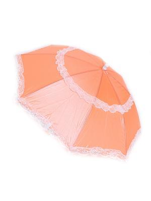 Зонт Zemsa. Цвет: оранжевый