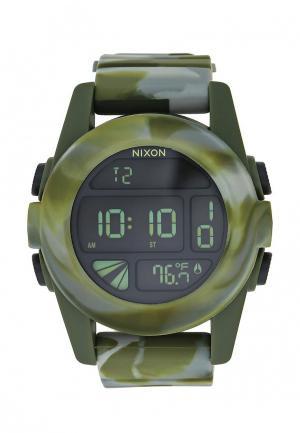 Часы Nixon. Цвет: хаки