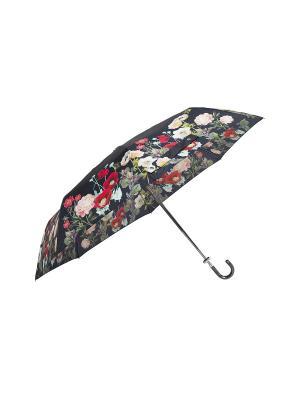 Складной зонт MollyMarais. Цвет: черный, зеленый, красный