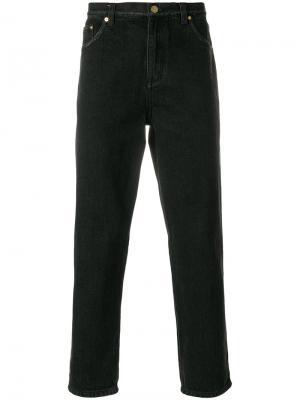 Классические укороченные джинсы 3.1 Phillip Lim. Цвет: чёрный