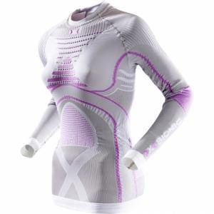 Термо-Кофта X-Bionic. Цвет: silver/fucsia