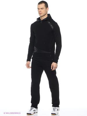 Спортивные костюмы CROSS sport. Цвет: черный