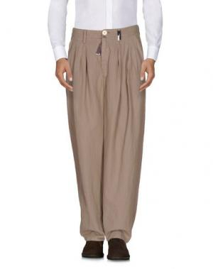 Повседневные брюки HIGH. Цвет: хаки