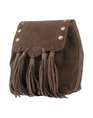 Рюкзаки и сумки на пояс V°73. Цвет: темно-коричневый