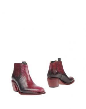 Полусапоги и высокие ботинки FREE LANCE. Цвет: красно-коричневый