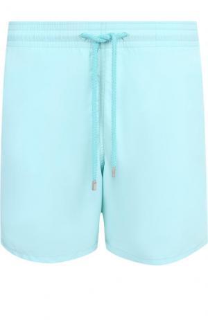 Плавки-шорты с карманами Vilebrequin. Цвет: бирюзовый