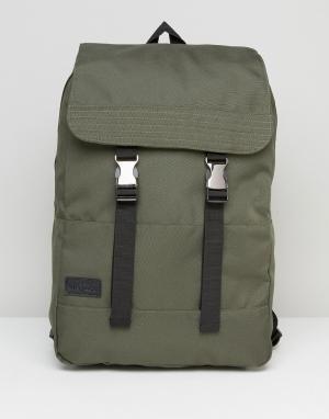 Dead Vintage Нейлоновый рюкзак Commuter. Цвет: зеленый