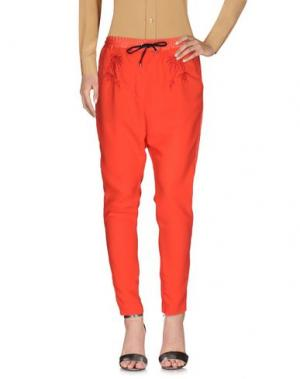 Повседневные брюки COSTUME NEMUTSO. Цвет: красный