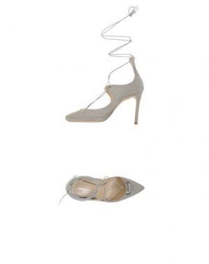 Туфли SPAZIOMODA. Цвет: светло-серый