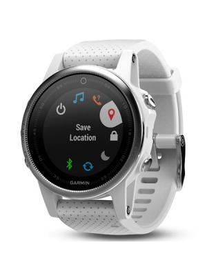 Умные часы Fenix 5S белые с белым ремешком GARMIN. Цвет: светло-серый, белый